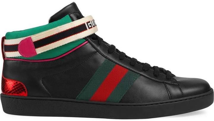 6daaf2279f5 High Top Shoes Men Gucci