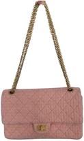 Chanel 2.55 Pink Tweed Handbags