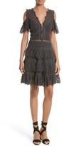 Rebecca Taylor Women's Lace Cold Shoulder Dress