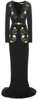 Stella McCartney Embroidered Crêpe Gown