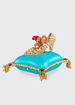 Estee Lauder x Disney Beautiful A Dream is a Wish Your Heart Makes Perfume Compact by Monica Rich Kosann