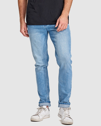 RES Denim Men's Blue Jeans - Bolt Slim Jean - Size One Size, 34 at The Iconic