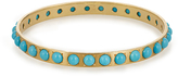 Irene Neuwirth Turquoise & yellow-gold bangle