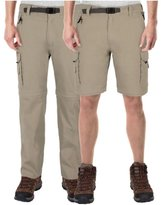 BC Clothing Men's Convertible Cargo Pant with Stretch, Relaxed Fit