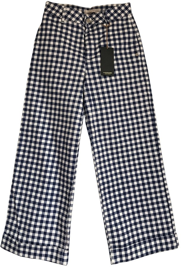 Scotch & Soda Blue Denim - Jeans Trousers for Women