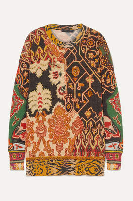 Etro Lurex Sweater - Black