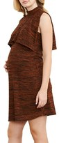 Maternal America Women's Maternity/nursing Knit Dress