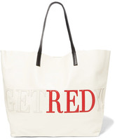 RED Valentino Appliquéd Leather Tote