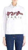 Kenzo Women's Brushed Cotton Molleton Sweatshirt