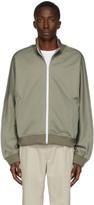 Maison Margiela Green Rodier Zip-Up Sweatshirt