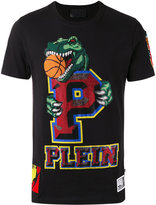Philipp Plein embellished logo T-shirt - men - Cotton - S