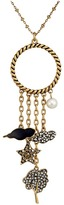 Marc Jacobs Charms Tree Star Cluster Pendant Necklace