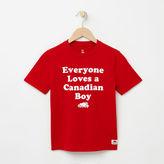 Roots Boys Canadian Boy T-shirt
