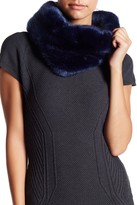 14th & Union Short Pile Faux Fur Snood Scarf