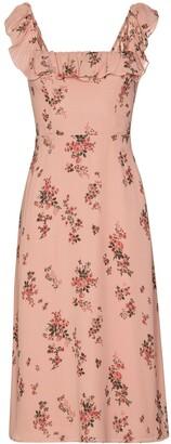 Reformation Colette floral-print midi dress