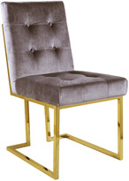 Chic Home Set Of 2 Liam Taupe Dining Chairs