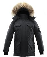 Triple F.A.T. Goose Chenega Mens Goose Down Jacket Arctic Parka with Real Coyote Fur