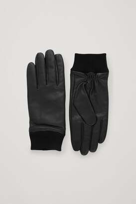 Cos Leather Gloves