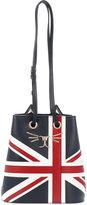 Charlotte Olympia Union Jack Feline Bucket Bag
