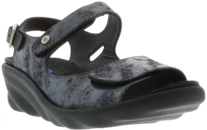 Wolky Leather Sandals with Removable Footbed -Scala