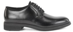 HUGO BOSS Italian Made Leather Derby Shoes With Outlast Lining - Black