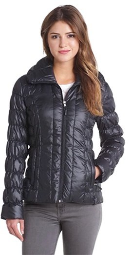 Kenneth Cole New York Ruched Packable Down Jacket