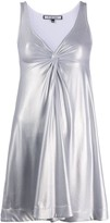 Fisico twist metallic dress
