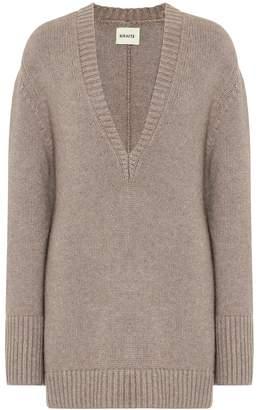 KHAITE Dana cashmere sweater