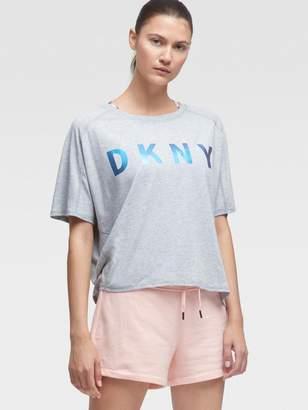 DKNY Oversized Chameleon Logo Tee