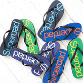 Simply Colors Super Dad Flip Flops