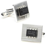 Ravi Ratan Integrated Circuit Cufflinks.