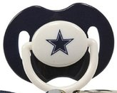 Baby Fanatic Dallas Cowboys Pacifiers 2 Pack Safe BPA Free