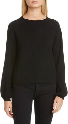 Co Raglan Sleeve Cashmere Peasant Sweater