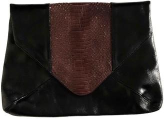 Dries Van Noten Black Exotic leathers Clutch bags
