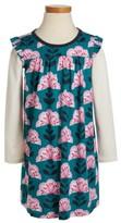 Tea Collection Toddler Girl's Floral - Double Decker Dress