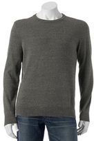 Big & Tall SONOMA Goods for LifeTM Classic-Fit Solid Fine Gauge Crewneck Sweater