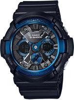 G-Shock Men's Analog-Digital Black Resin Bracelet Watch 55x52mm GA200CB-1A