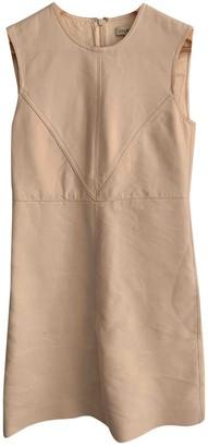 Jill Stuart Ecru Cotton Dress for Women