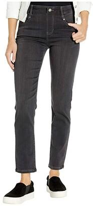 Liverpool Gia Glider/Revolutionary Pull-On Slim Jeans in Meteorite (Meteorite) Women's Jeans