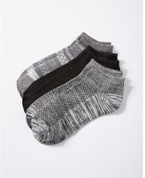 Express 3-PACK fair isle and solid ankle socks