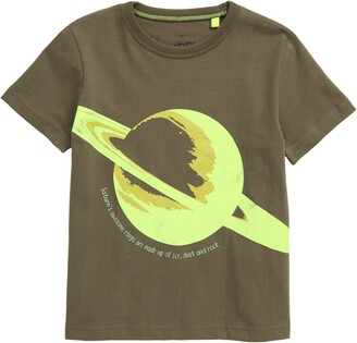 Boden Mini Saturn Glow in the Dark Graphic Tee