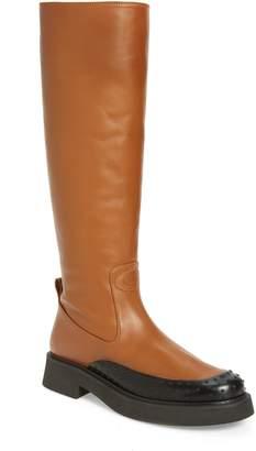 Tod's Platform Knee High Boot