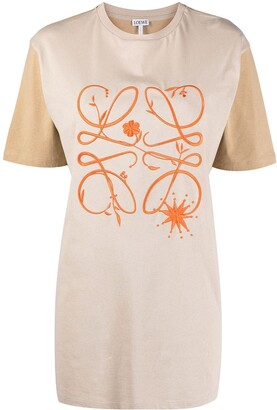 Loewe Anagram-embroidered T-shirt