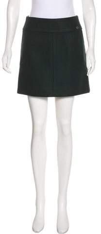 Chanel Paris-Salzburg Wool Skirt