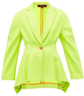 Sies Marjan Haru Single-breasted Twill Jacket - Light Yellow