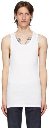 Calvin Klein Underwear Three-Pack White Cotton Tank Top