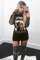 Forever 21 FOREVER 21+ 2Pac Graphic Band Tee