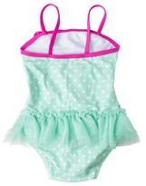 Circo Toddler Girls' One Piece Tutu Swimsuit
