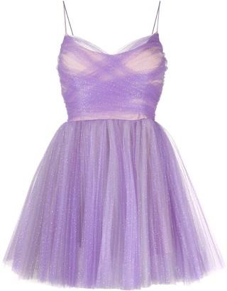 Brognano Tulle Mini Prom Dress