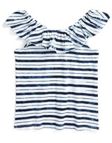 Splendid Girl's Stripe Peasant Top